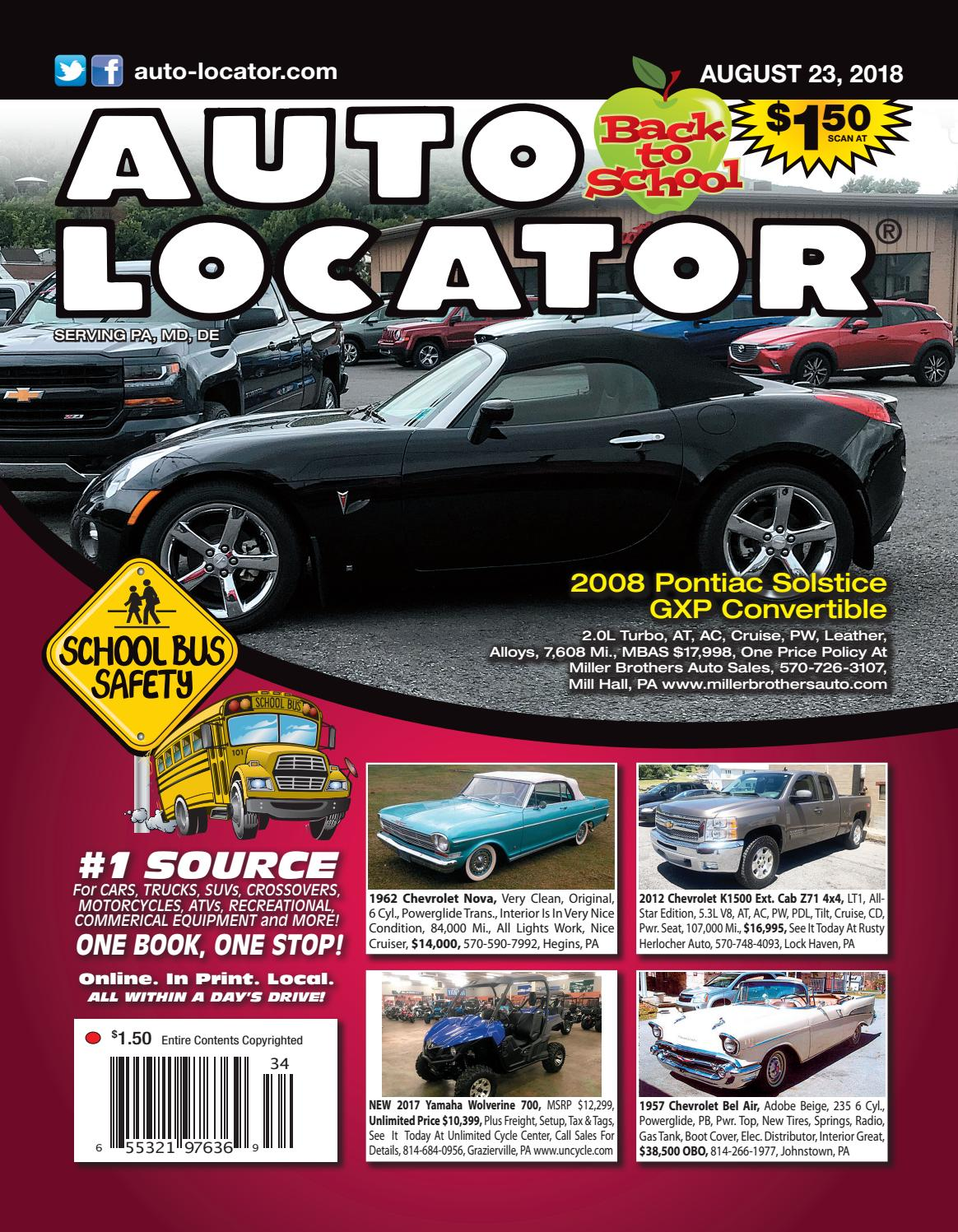 08 23 18 Auto Locator Red Edition By And 1957 Chevrolet Dump Truck Connection Issuu