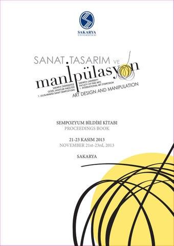 Kitap Uluslararası Sanat Tasarım Ve Manipülasyon Sempozyumu By