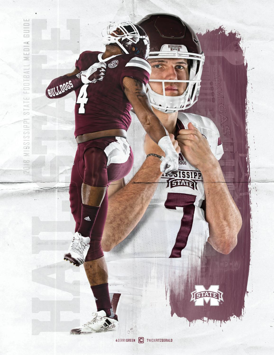 2018 Mississippi State Football Media Guide by Mississippi State