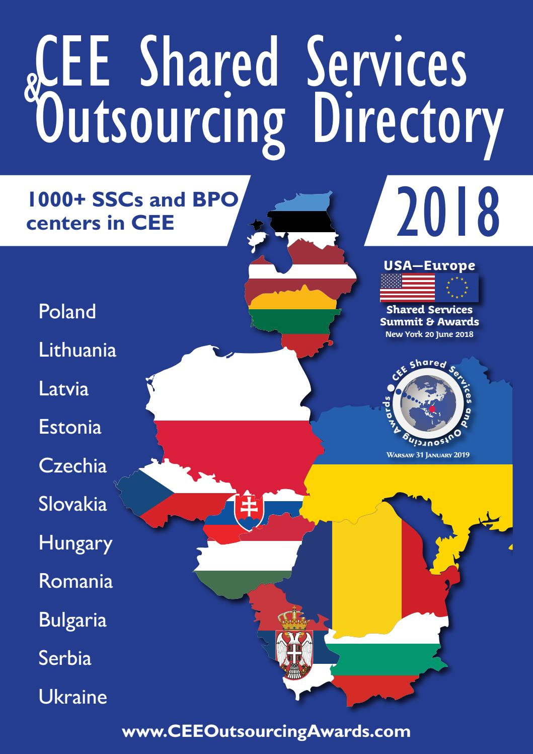 CEE Shared Services Directory by BiznesPolska/CEE Business