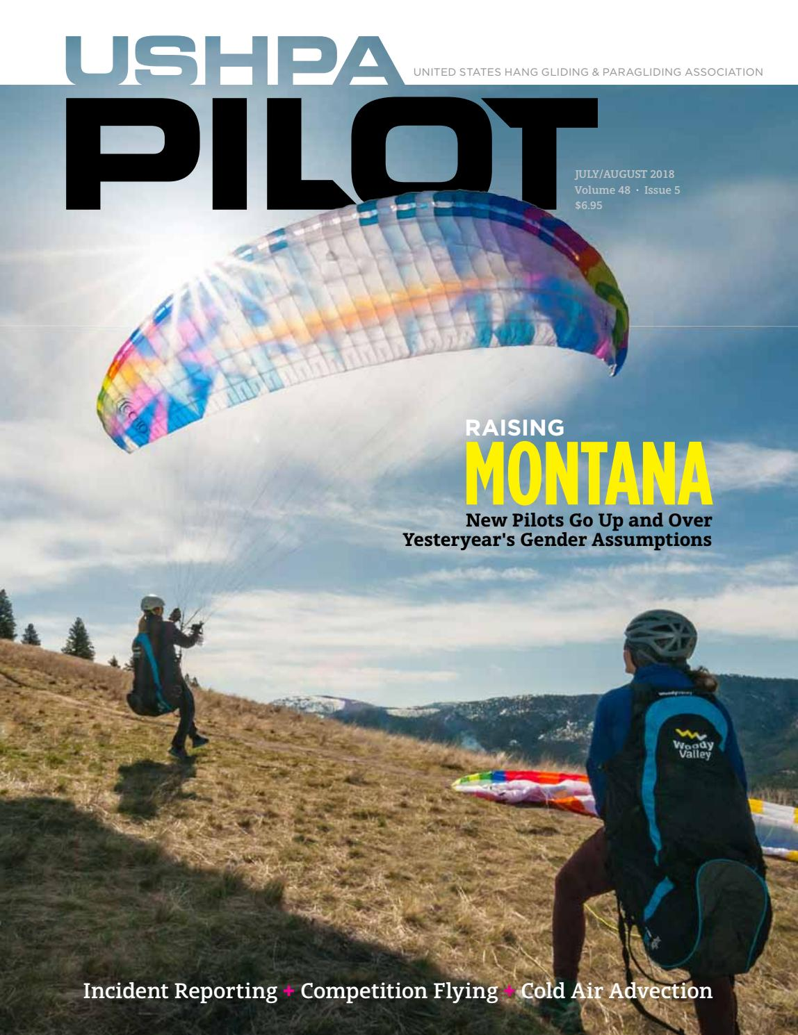 USHPA Pilot Vol48-Iss5 Jul-Aug 2018 by US Hang Gliding & Paragliding