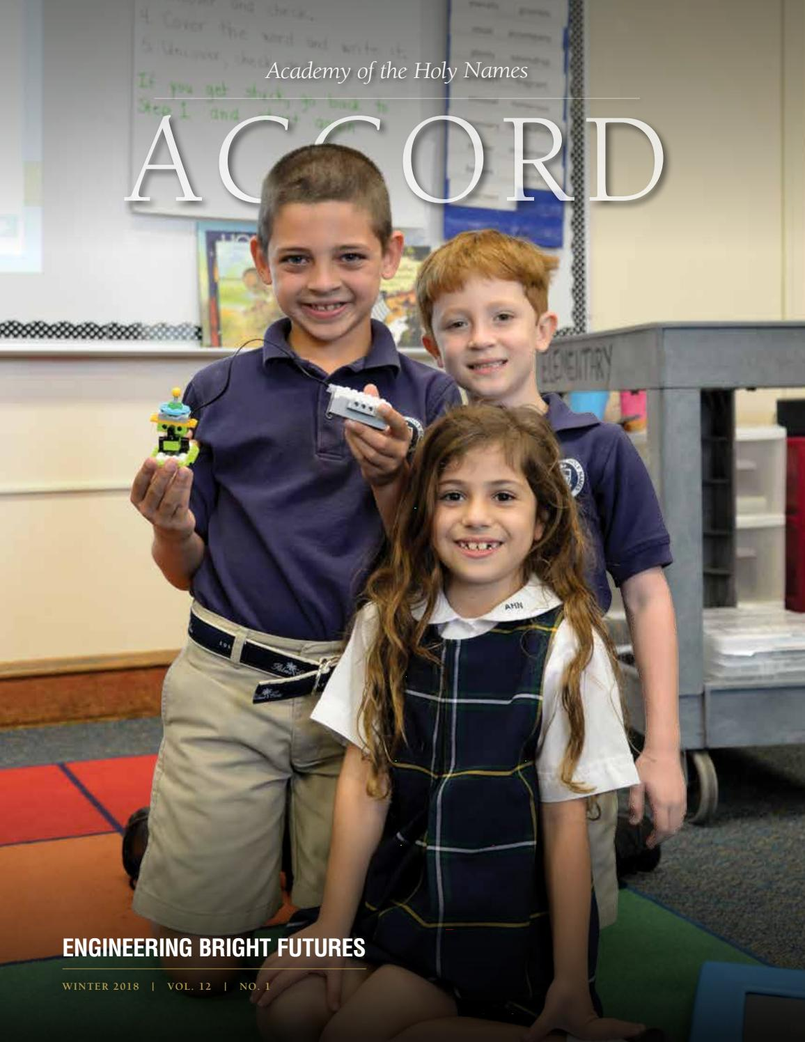 Accord - Winter 2018 by Academy of the Holy Names - issuu