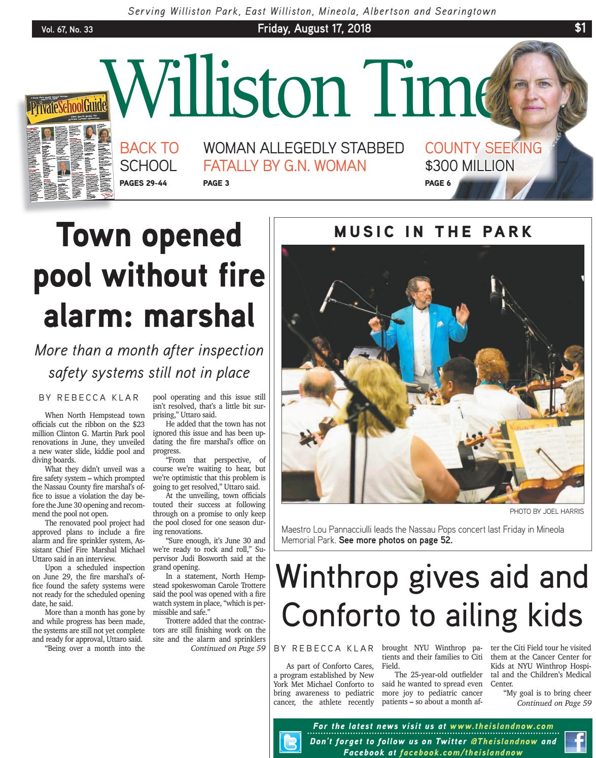 Williston Times 2018_08_17 by The Island Now - issuu