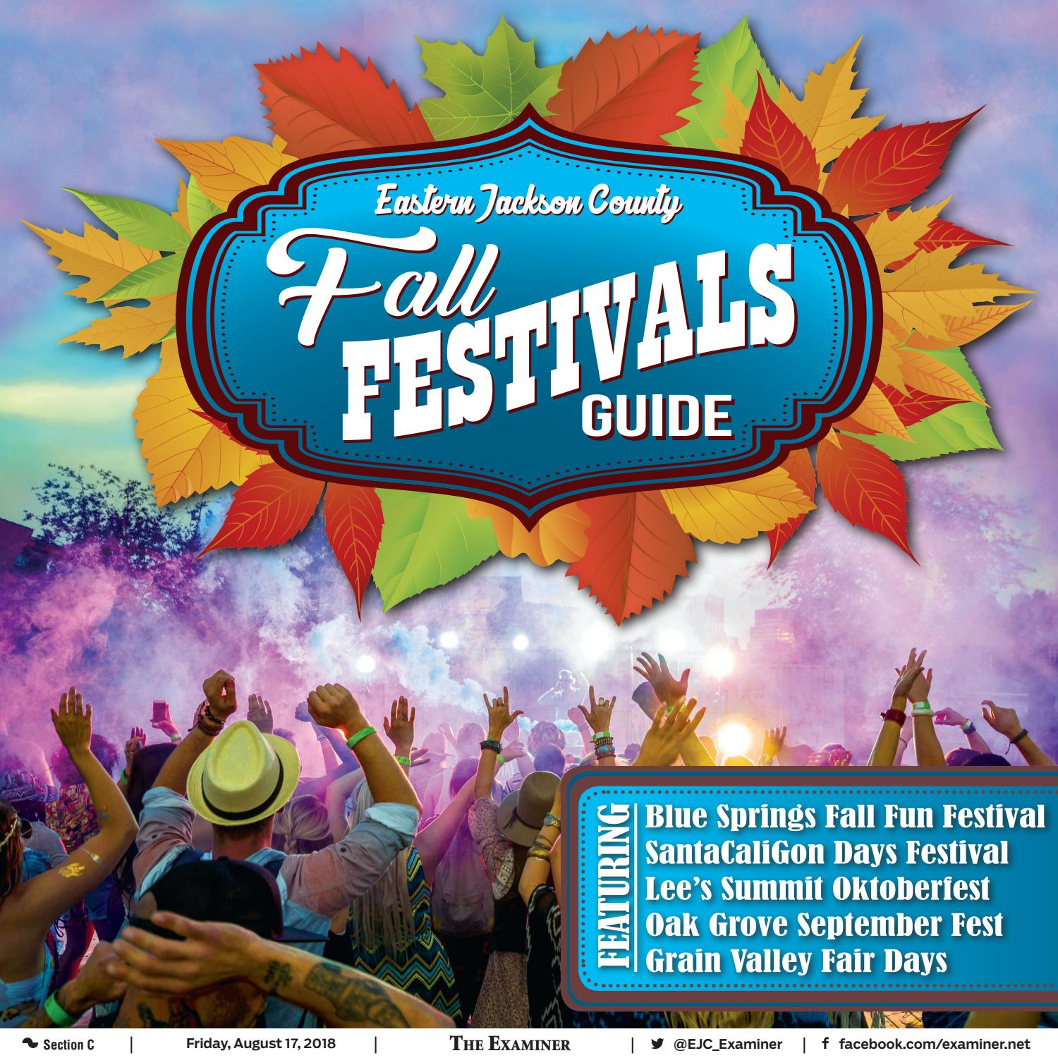 The 2018 Eastern Jackson County Fall Festivals Guide by The