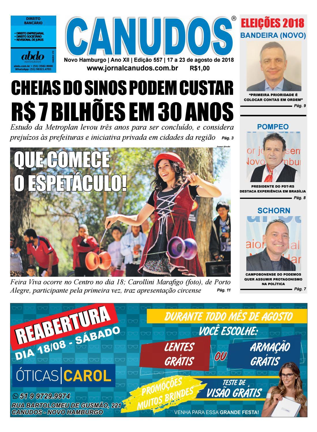 Jornal Canudos - Edição 557 by Jornal Canudos - Comercial - issuu 8428de5289