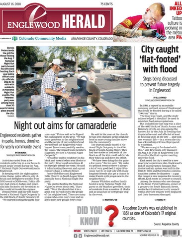 Englewood Herald 0816 By Colorado Community Media Issuu