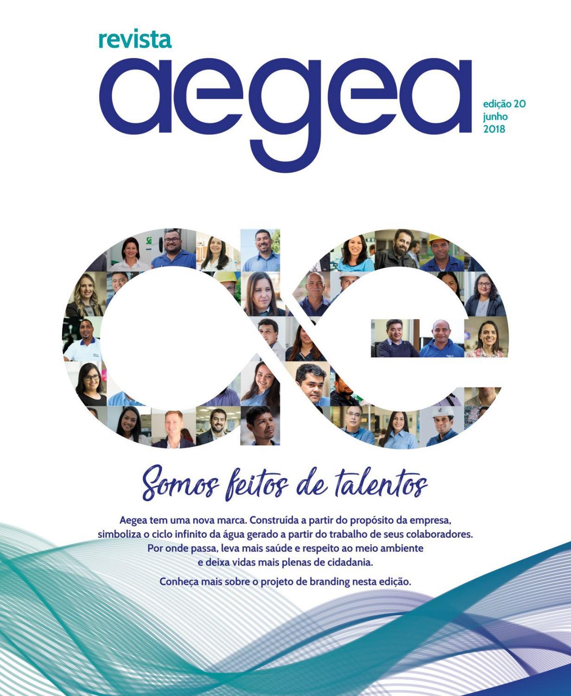 89a4426a82 Revista Aegea - Edição número 20 by Aegea Saneamento - issuu