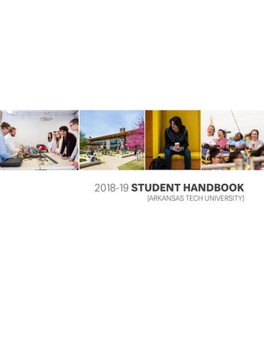 2018-19 Student Handbook by Arkansas Tech University - issuu