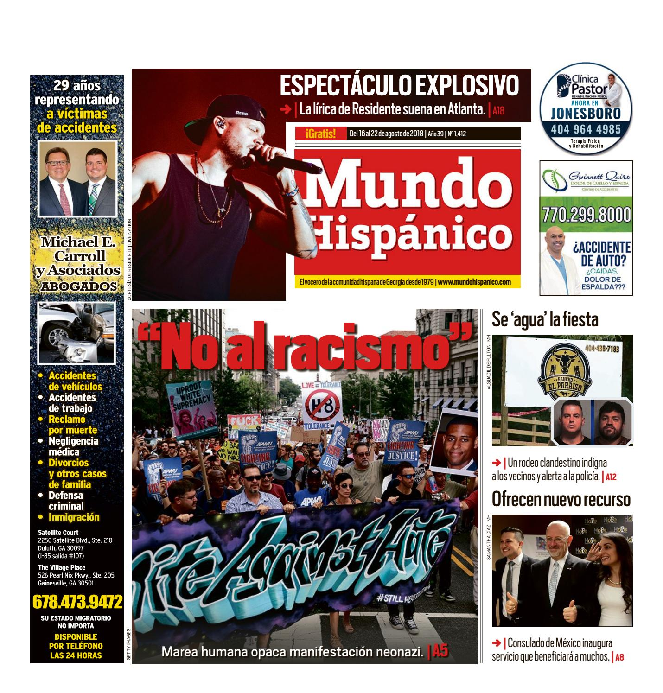 "No al racismo"" by MUNDO HISPANICO - issuu"