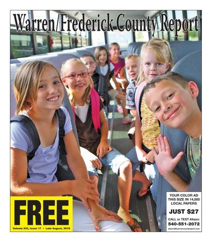 Late August 2018 Warren/Frederick County Report by Warren/Frederick