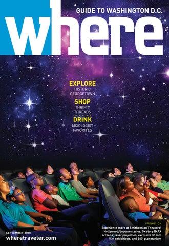 Where Magazine Washington Dc Sep 2018 By Morris Media Network Issuu