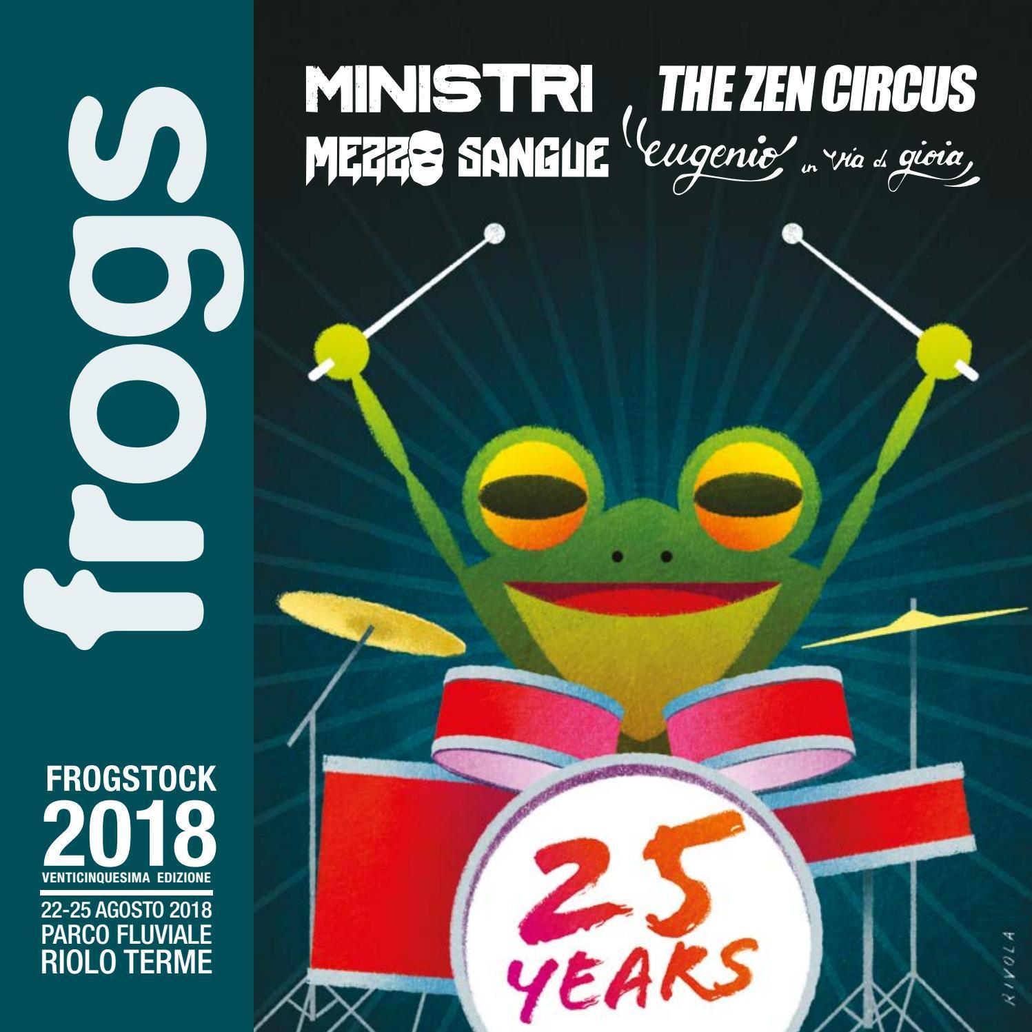 Frogs Frogstock 2018 By Frogstock Issuu