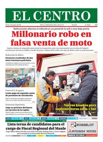 Diario 11-08-2018 by Diario El Centro S.A - issuu 79d058a65b700