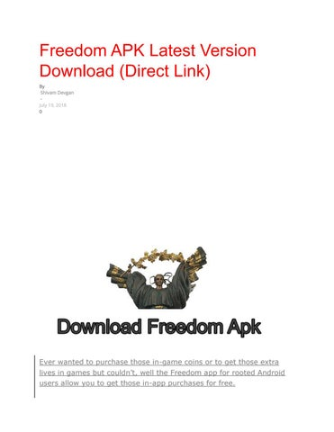 download freedom app for rooted android