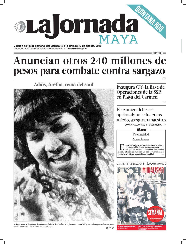 La Jornada Maya · viernes 17 de agosto de 2018 by La Jornada Maya - issuu e92a5f5d90c