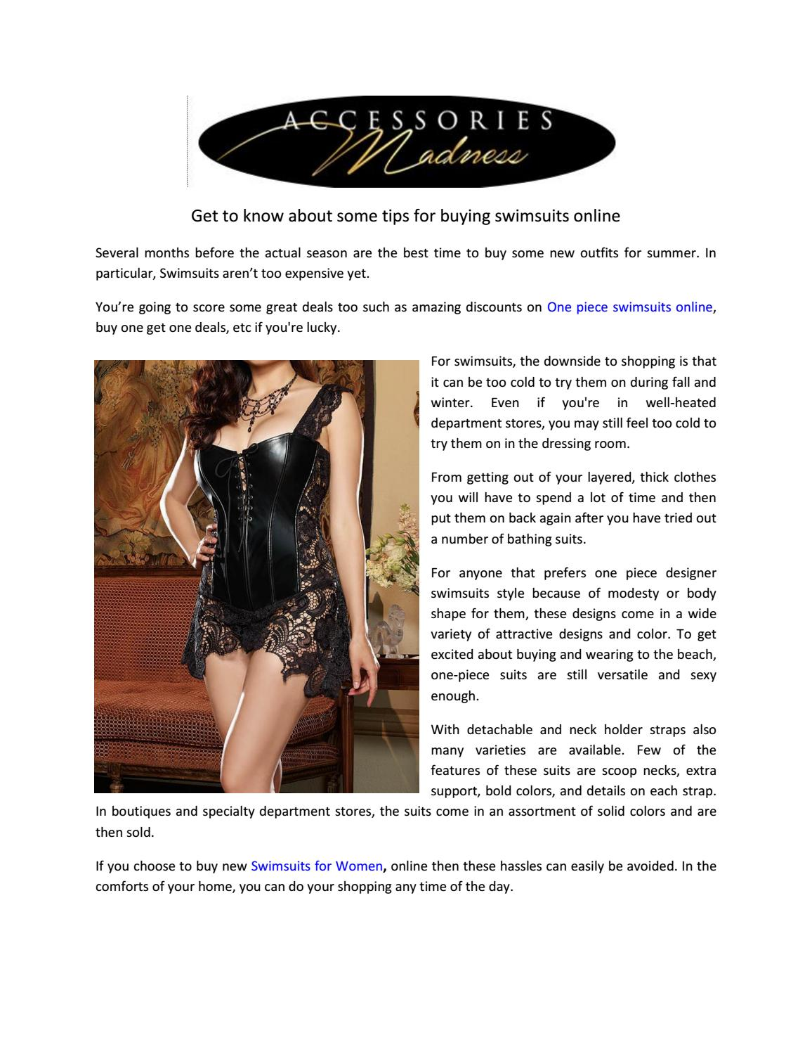 8258b5da9 Get to know about some tips for buying swimsuits online by  accessoriesmadness1 - issuu