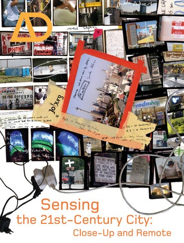 Sensing the 21st Century City: The Net City Close-Up and Remote by