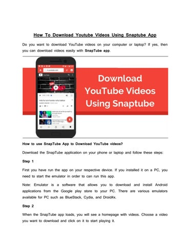 download youtube app google play store