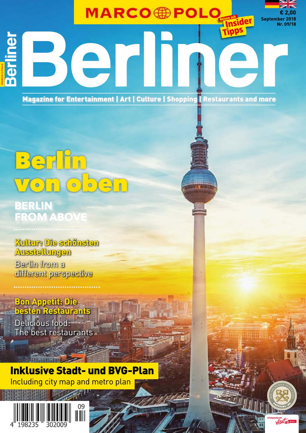 Marco Polo Berliner #0919 by Berlin Medien GmbH - issuu