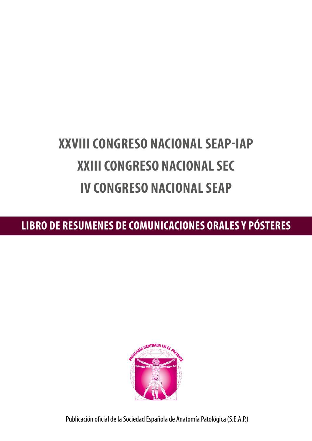 XXVIII CONGRESO NACIONAL SEAP-IAP by oxidrilop450 - issuu