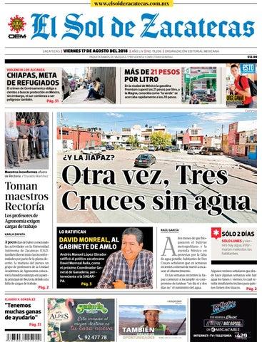 El Sol de México 17 de agosto 2018 by El Sol de México - issuu 5dccfbc7ba7