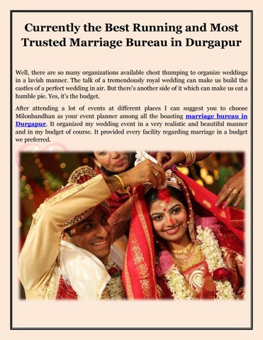 Milon Bandhan: Marriage Bureau in Durgapur