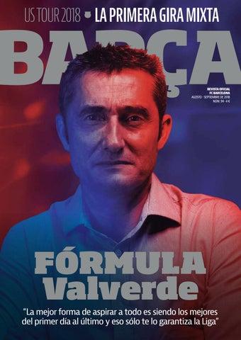 US TOUR 2018 LA PRIMERA GIRA MIXTA. REVISTA OFICIAL FC BARCELONA ... dce4ae4a62aba