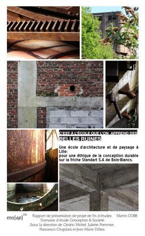 Conception Dune école Darchitecture Et De Paysage à Bois