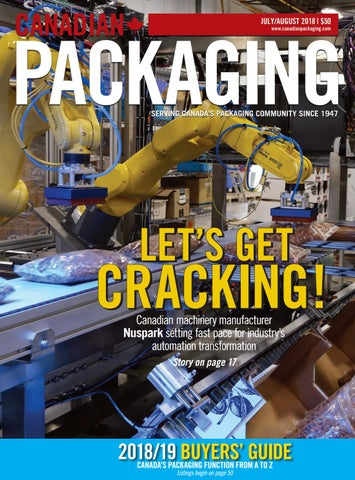 Canadian Packaging July/August 2018 by Annex Business Media - issuu