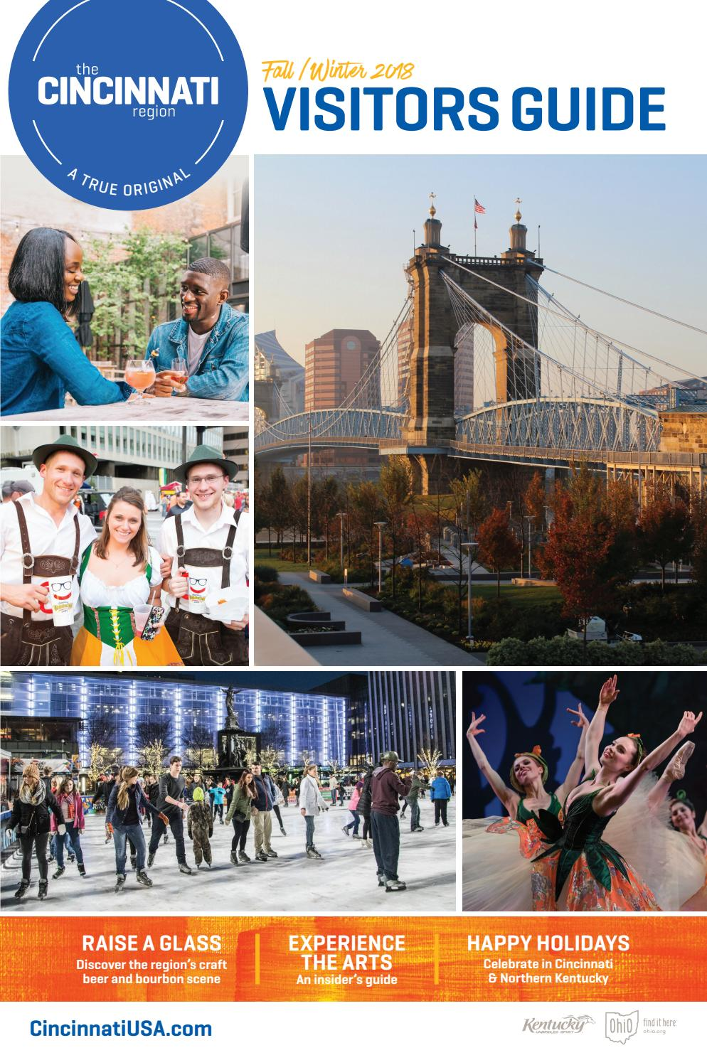 Official Visitors Guide - Fall/Winter 2018 - Cincinnati USA by Cincinnati  Magazine - issuu