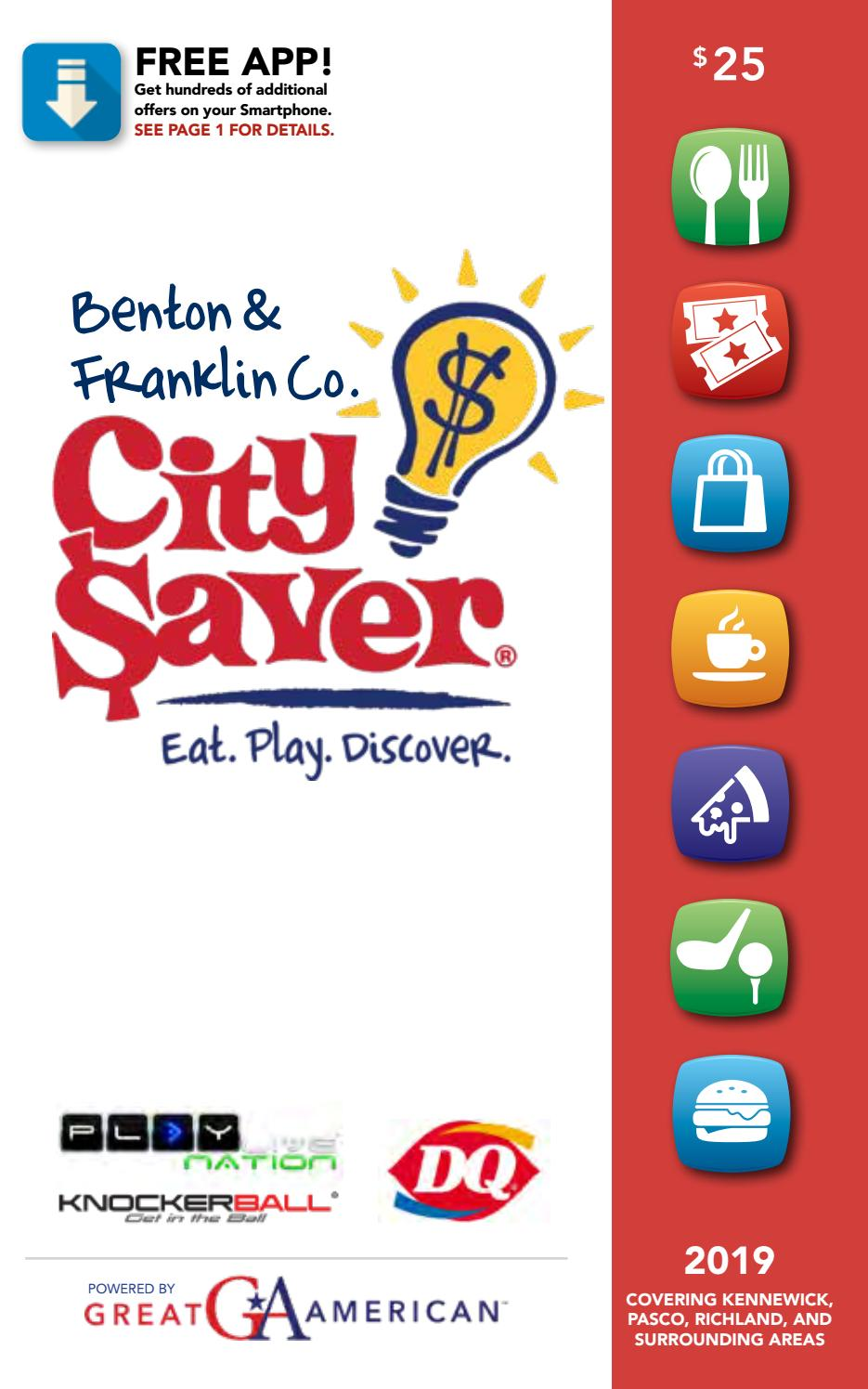 Round Table Pizza Coupons Kennewick.2019 Benton Franklin Counties City Saver Coupon Book By