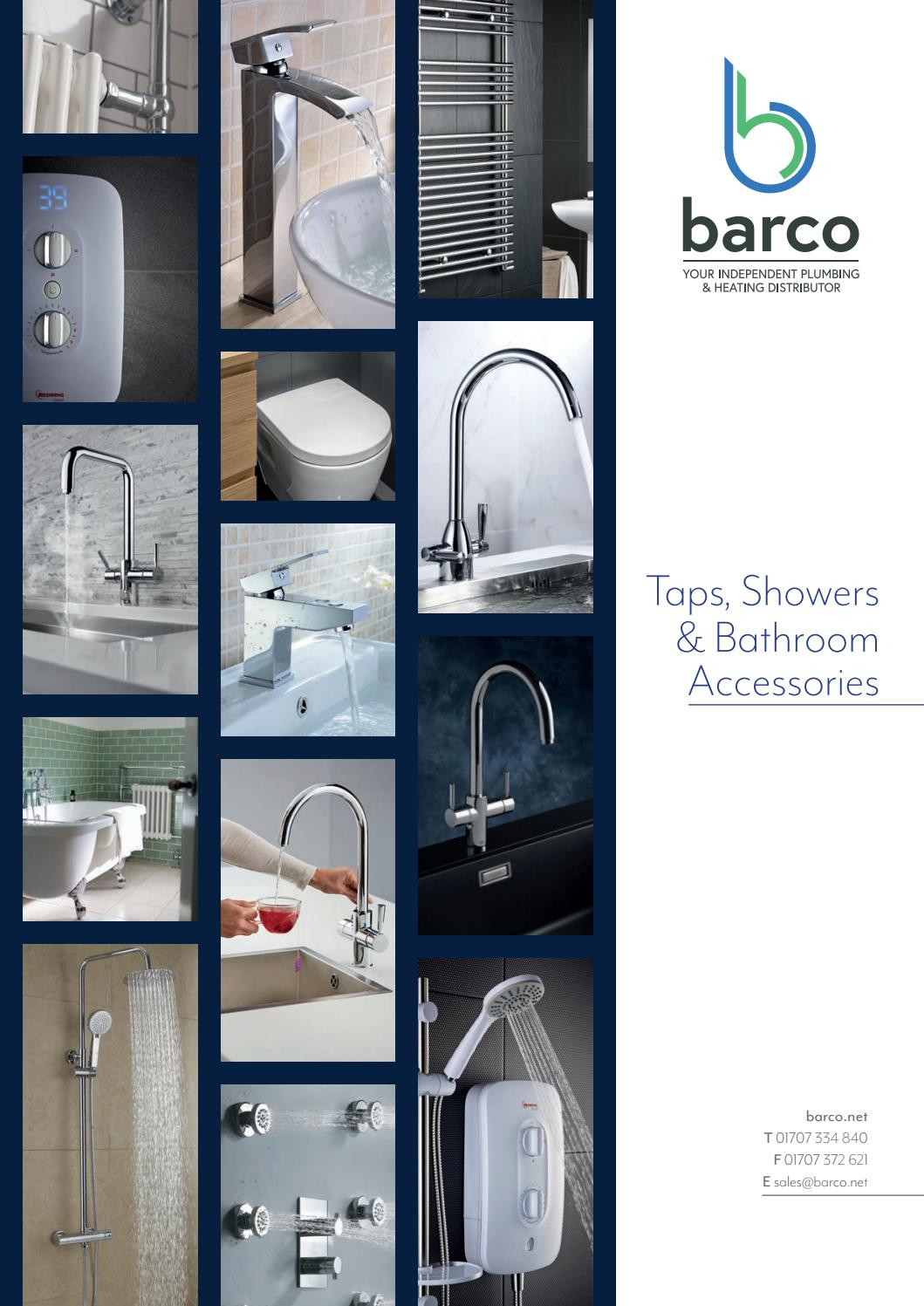 Barco Taps, Showers & Bathroom Accessories Brochure by barco-sales ...