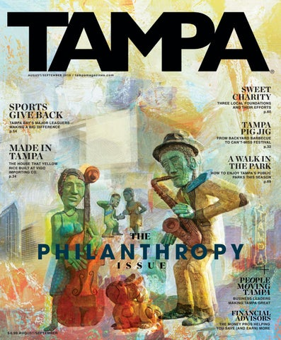 August/Sept 2018 by TAMPA Magazines - issuu