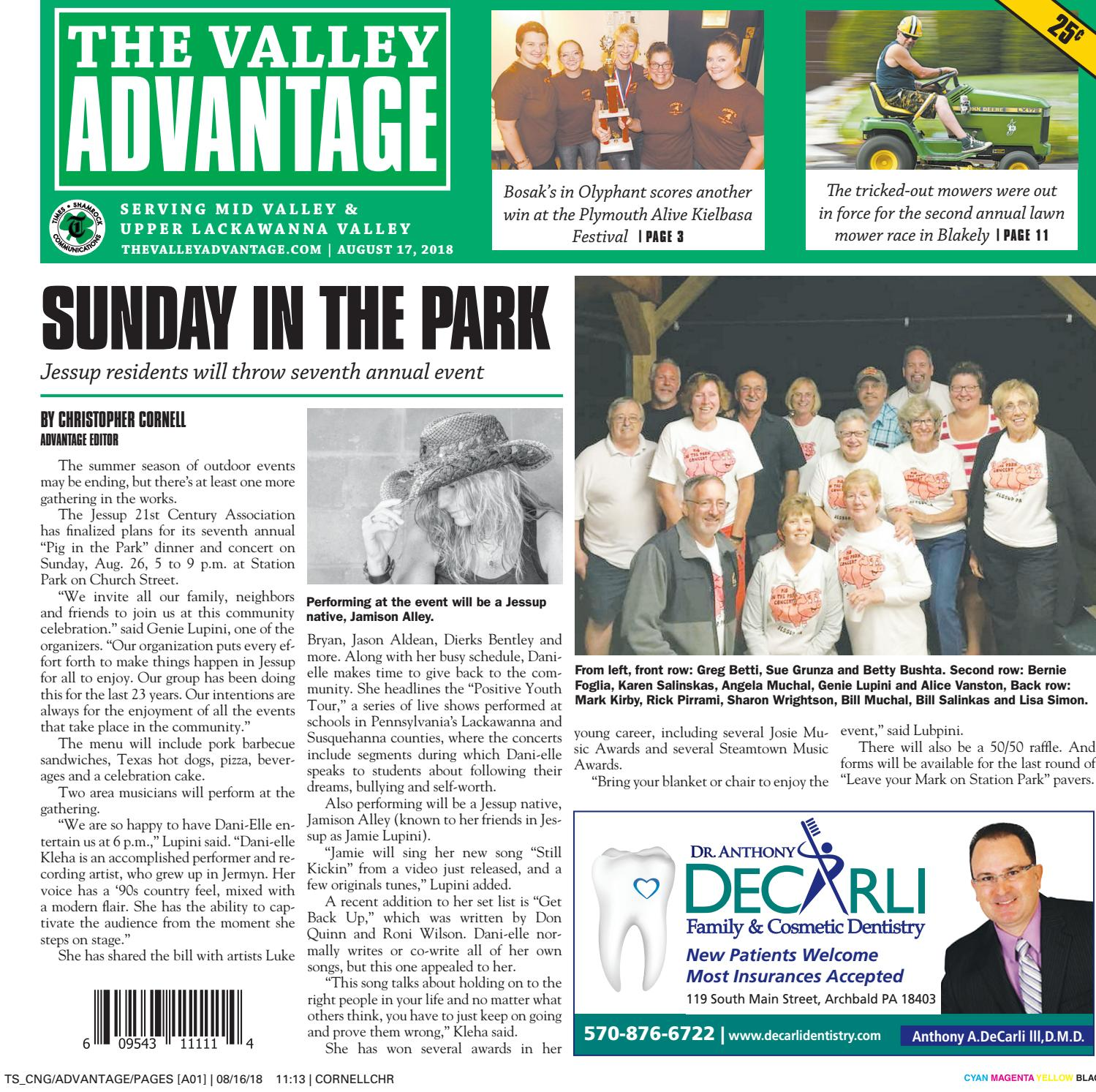 686174a447d The Valley Advantage--08-17-18 by CNG Newspaper Group - issuu