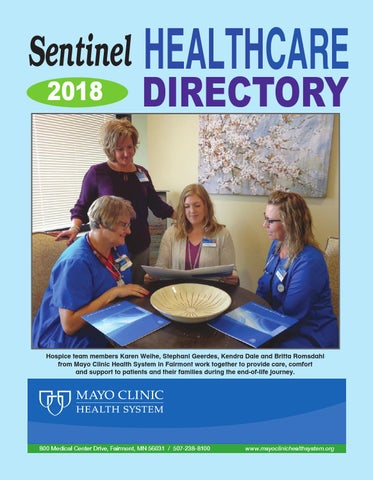 Healthcare directory 2018 by Lisa Thate - issuu