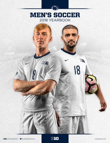 7ad79c627 2018 Penn State Men s Soccer Yearbook by Penn State Athletics - issuu