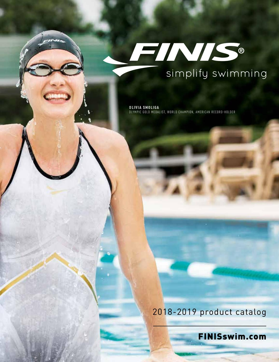 Finis Pulling ANKLE Strap Band Swim Strength Training Equipment 1.05.052.104 new