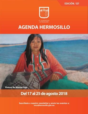 """Cover of """"Agenda Hermosillo #127 """""""
