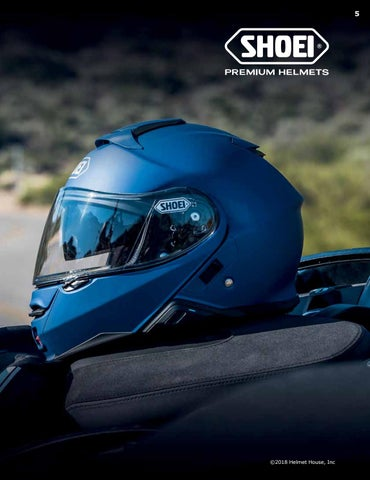 d39a5914 2018 SHOEI Catalog from Helmet House by Helmet House Inc. - issuu
