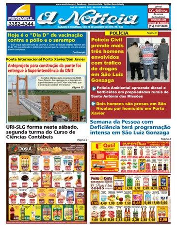 668cf8477d3 Edição do dia 18 e 19 de agosto de 2018 by Jornal A Notícia - issuu
