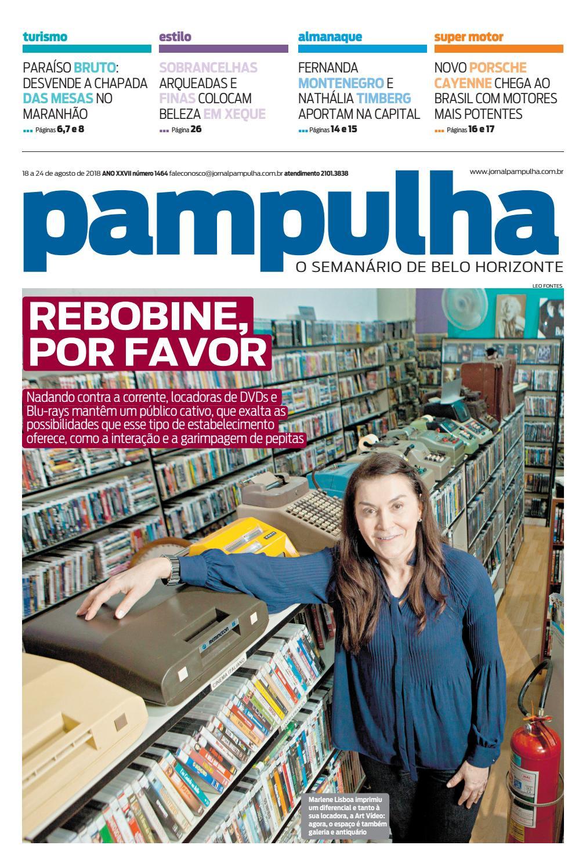 Pampulha - 18 a 24 de agosto de 2018 by Tecnologia Sempre Editora - issuu f6df004b4d1bb