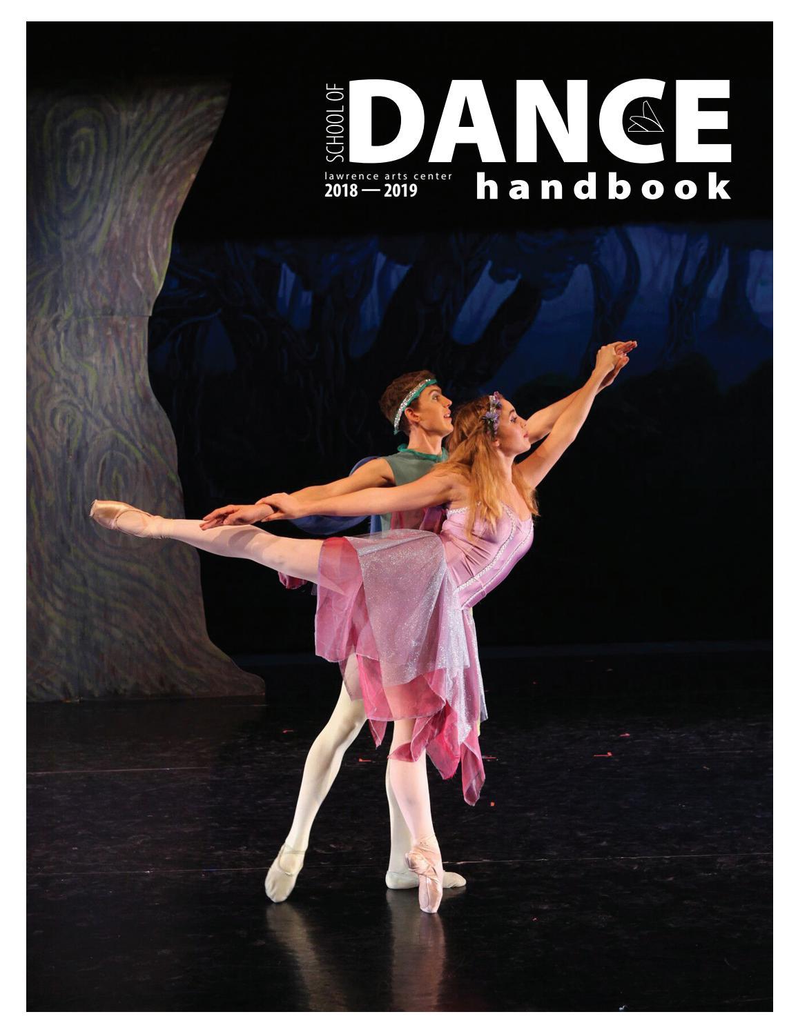 Lawrence Arts Center School of Dance Handbook 2018/19 by