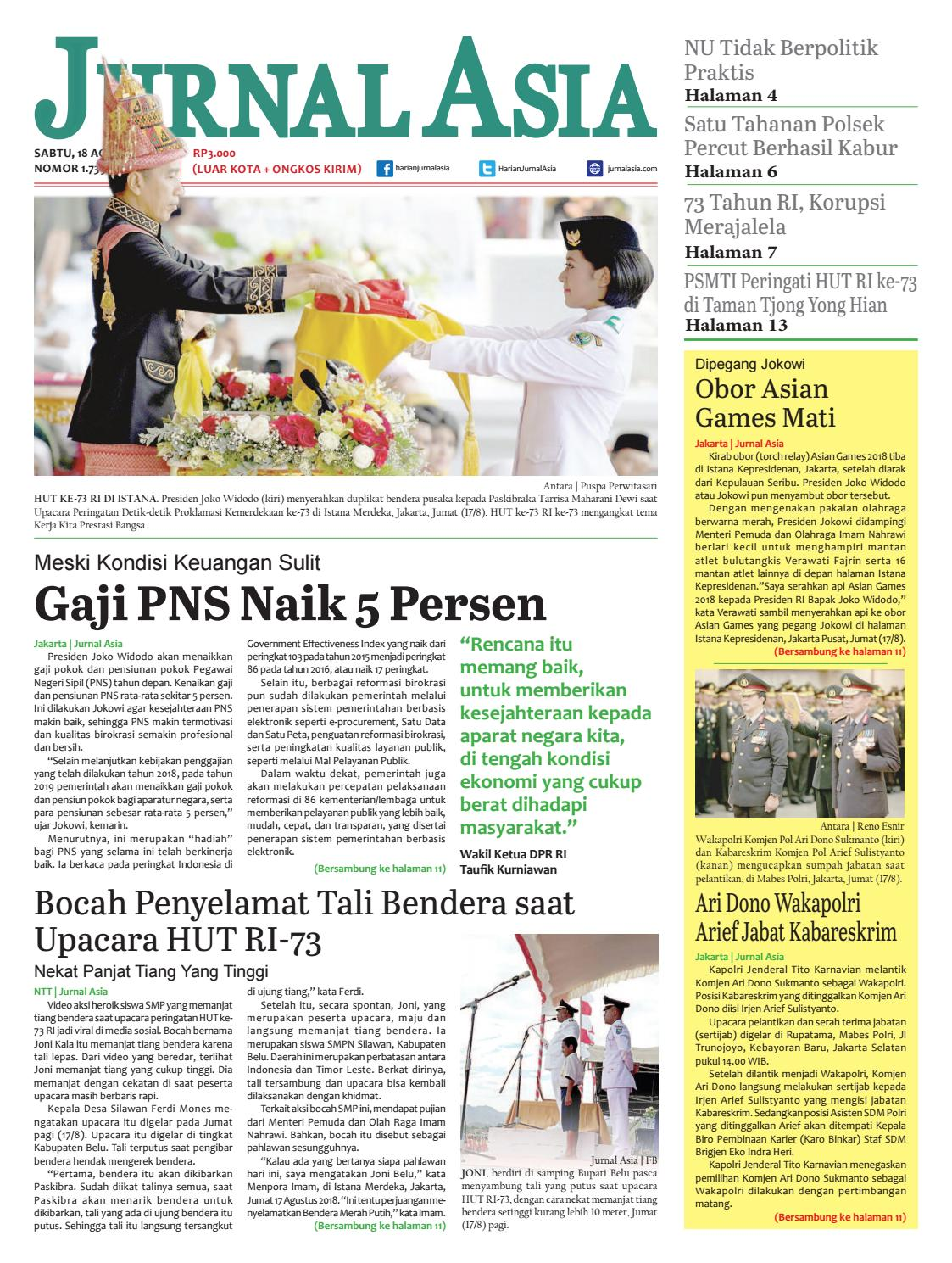 Harian Jurnal Asia Edisi Sabtu a6eb80f03f