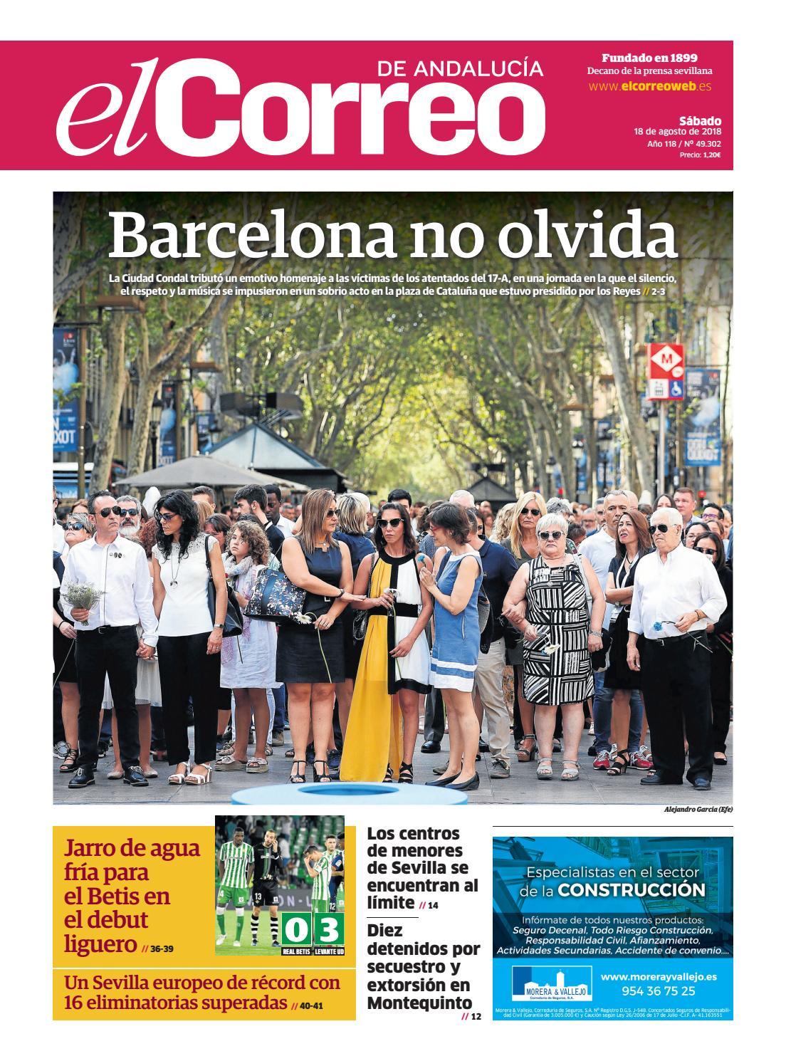 4376c9438 18.08.2018 El Correo de Andalucía by EL CORREO DE ANDALUCÍA S.L. - issuu