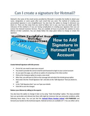 Date-Hotmail