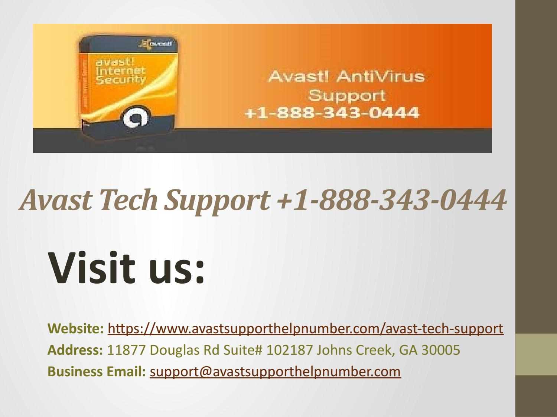 avast internet security email address