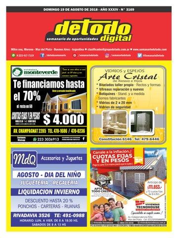 hot sales 3e6d3 5a079 Semanario Detodo - Edición Digitla N° 3169 - Domingos - 19 08 2018 ...