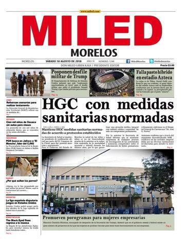 Miled Morelos 18 08 18 By Miled Estados Issuu
