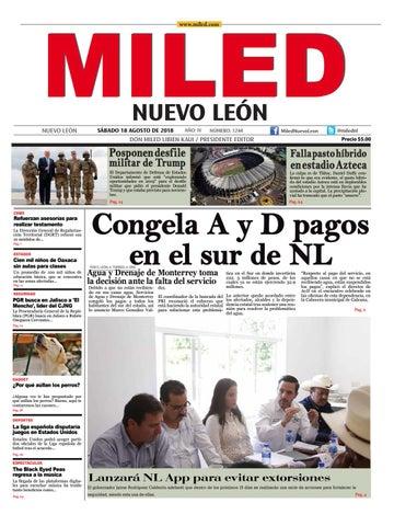 Miled Nuevo Leon 18 08 18 By Miled Estados Issuu