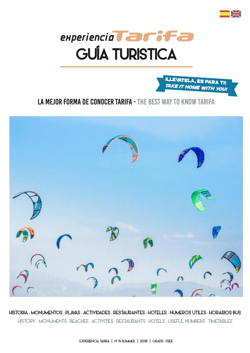 Guia turistica Experiencia Tarifa 2018 by valentina bianchi - issuu